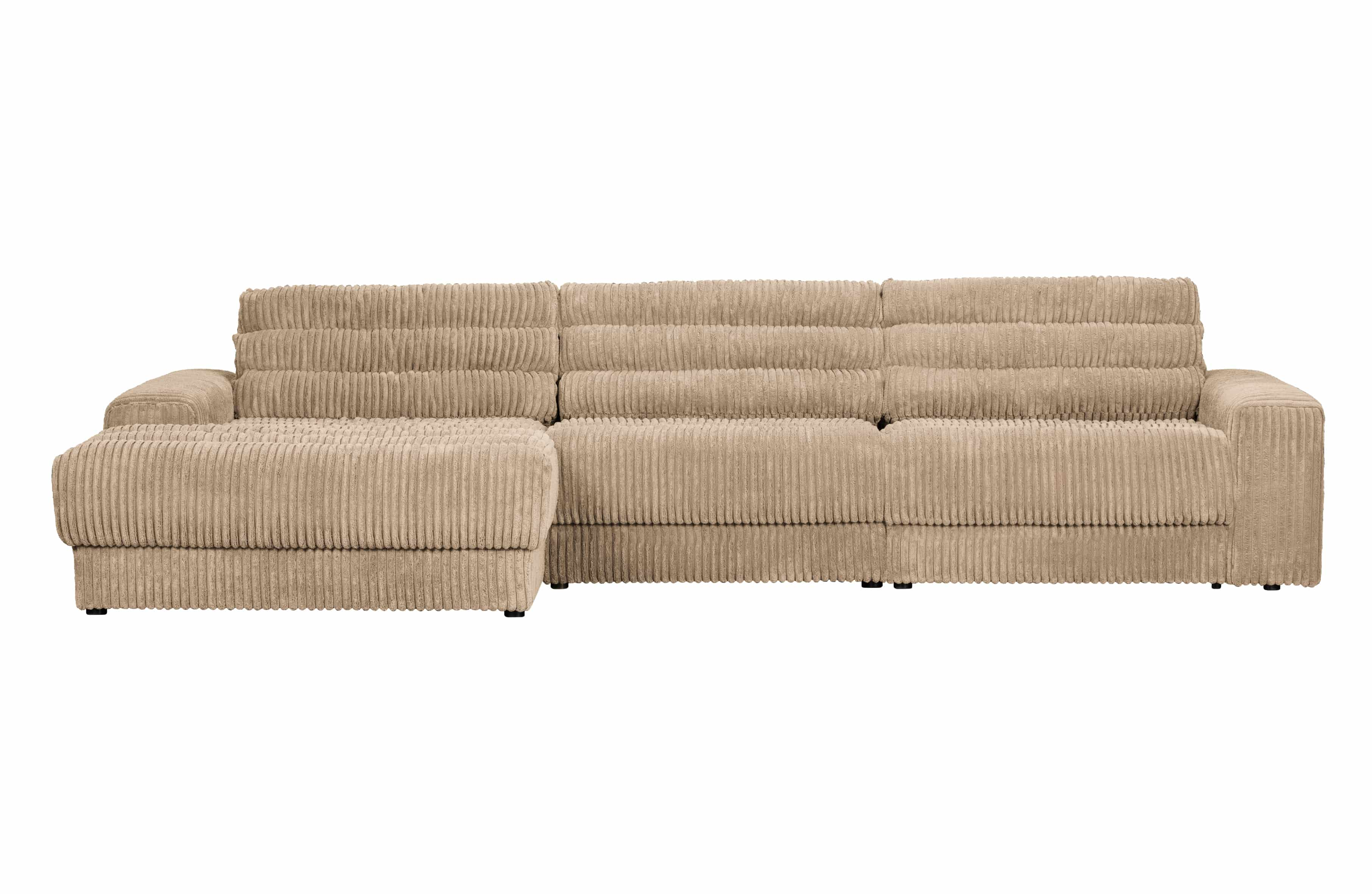 Date Chaise Longue Links Ribcord Travertin
