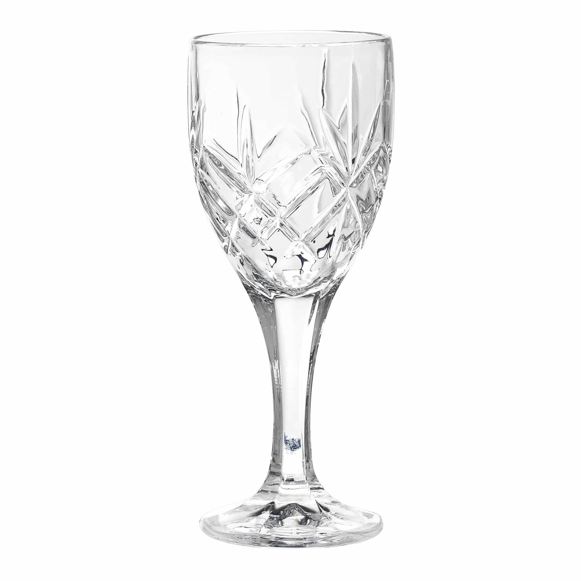 Sif Wine Glass, Clear, Glass