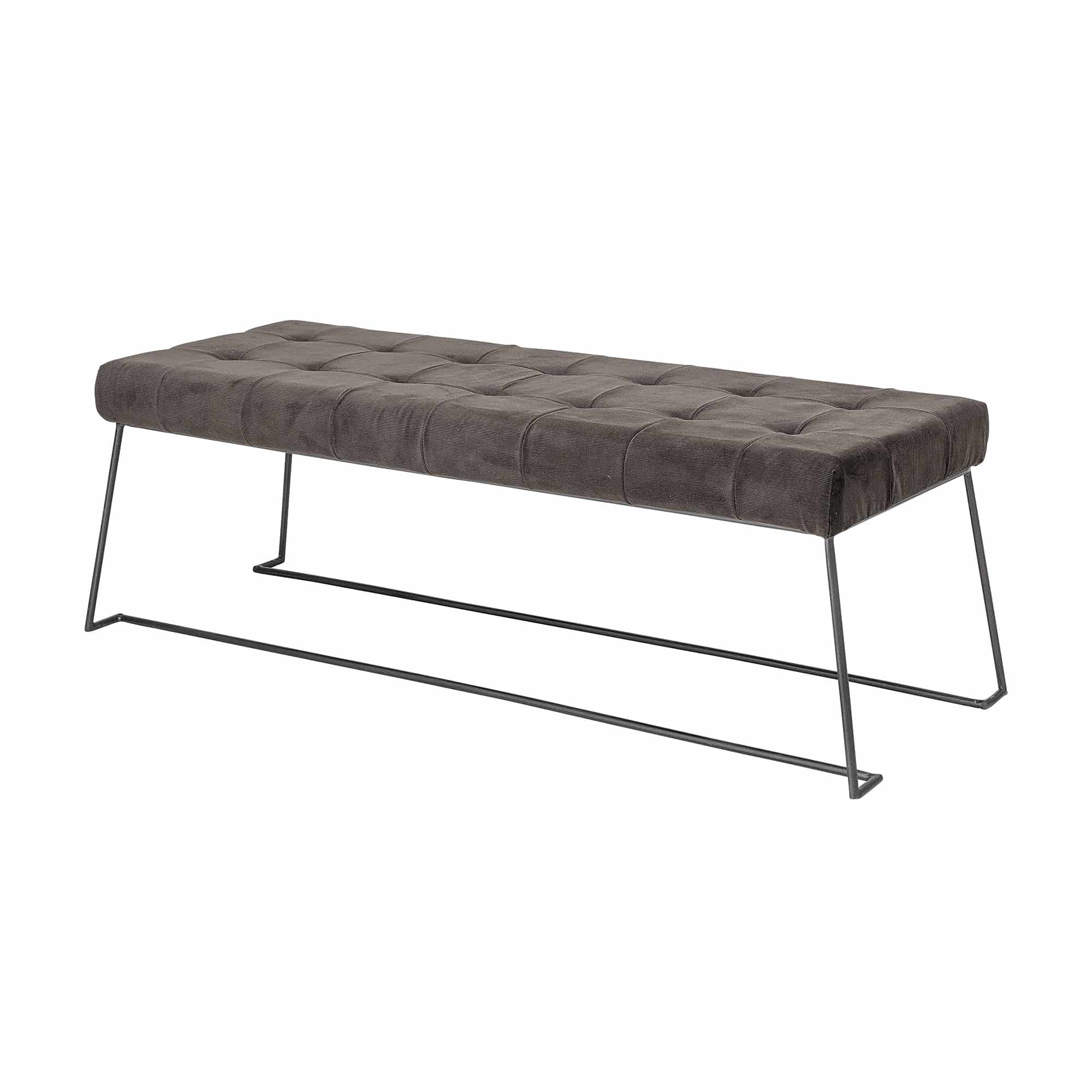 Radi Bench Brown Polyester
