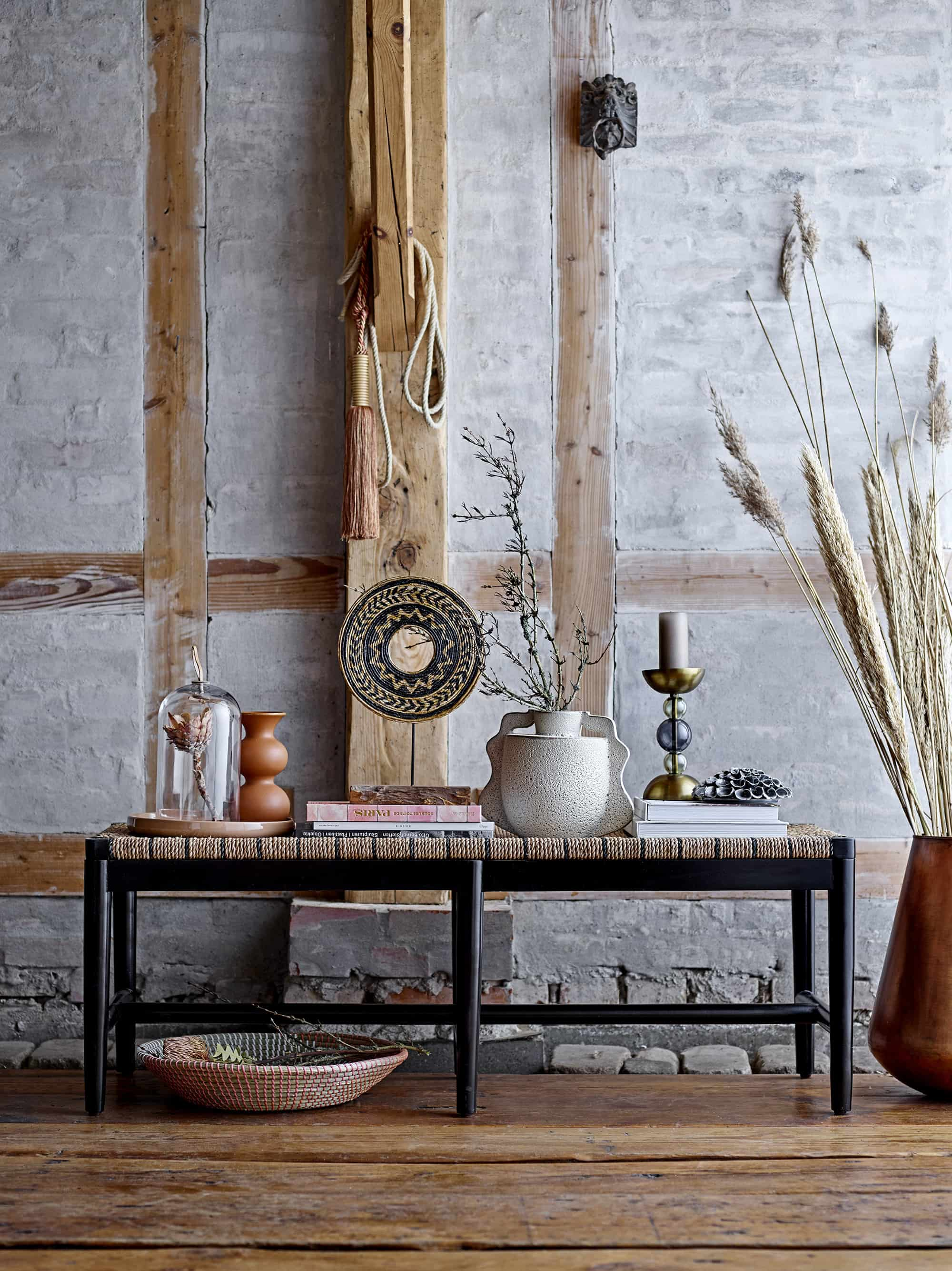 Luce Bench Nature Seagrass