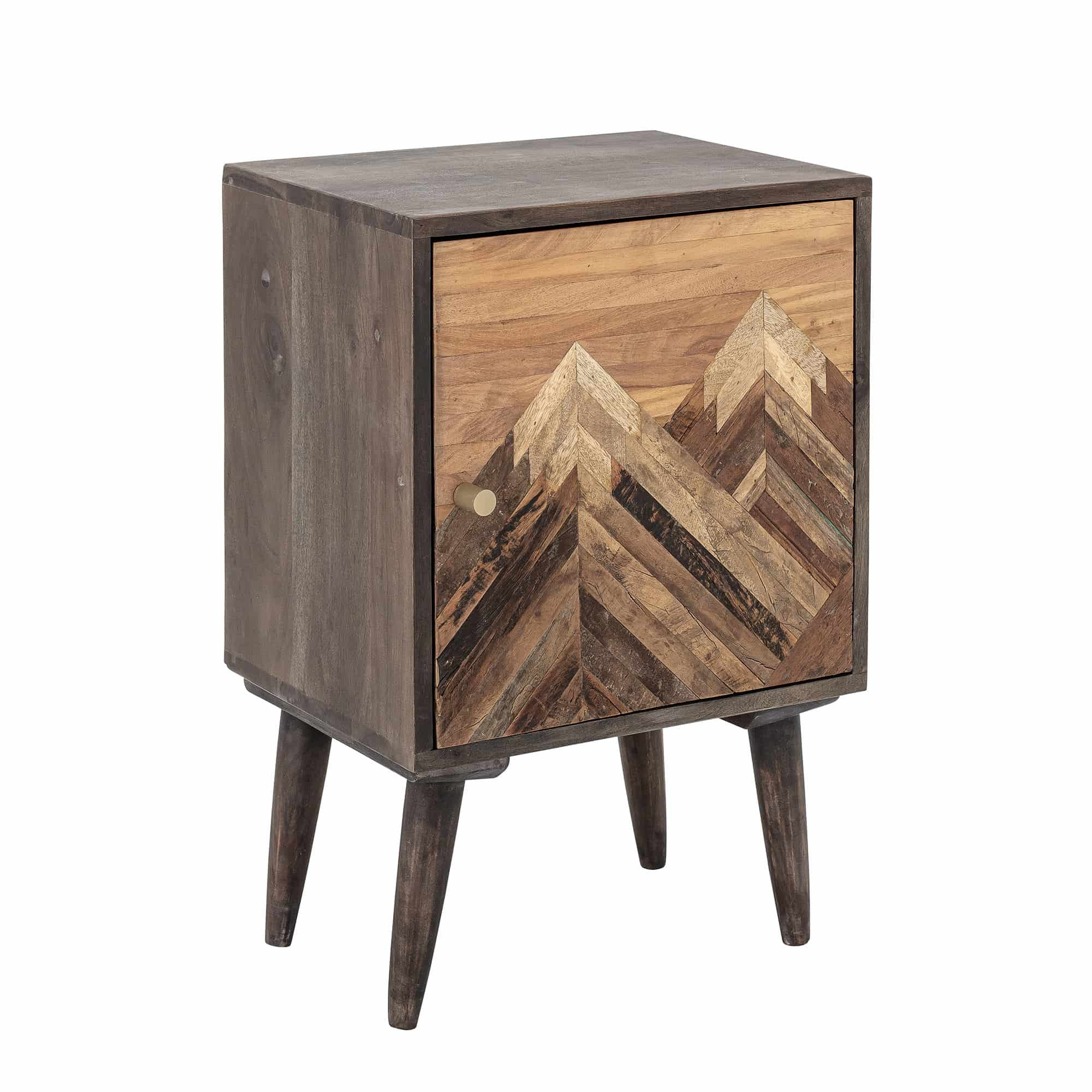 Hali Cabinet Brown Mango