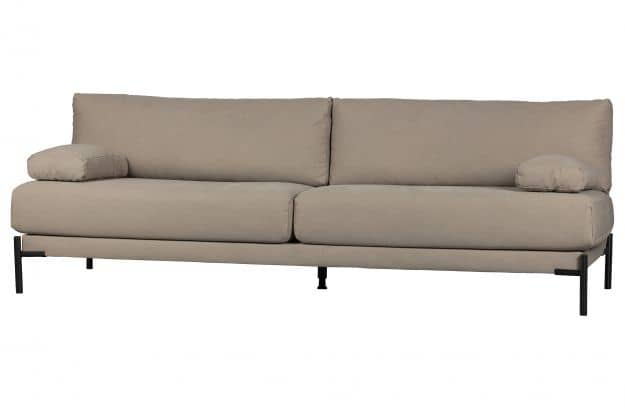 Polstersofa Sleeve 83X242X94 cm 3- Sitzer taupe