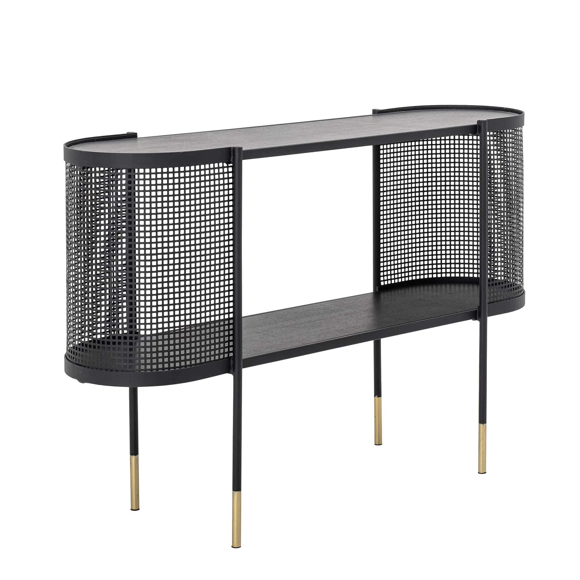 Midou Console Table Black Metal